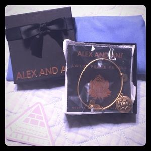 Brand New Alex and Ani Lotus Peace Petals w/box!